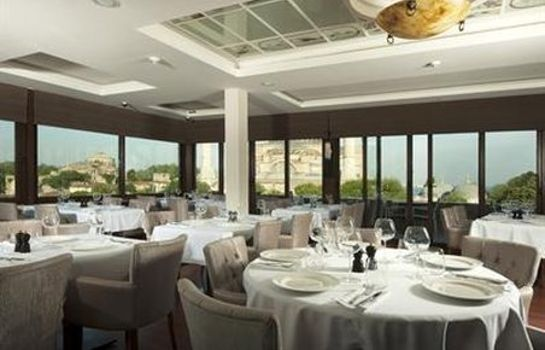 Restaurant The And Hotel Sultanahmet Special Category