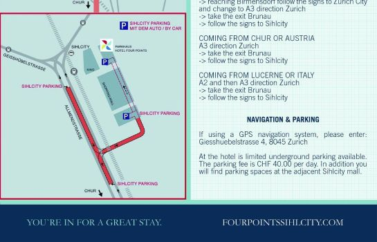 Information Four Points By Sheraton Sihlcity - Zurich