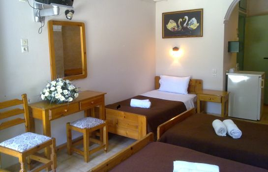 Chambre triple Matala Dimitris Villas and Hotel