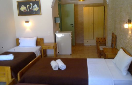Chambre quadruple Matala Dimitris Villas and Hotel
