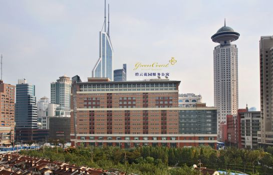 Exterior view Green Court Residence City Center Shanghai Former:Green Court Serviced Apartment People Square