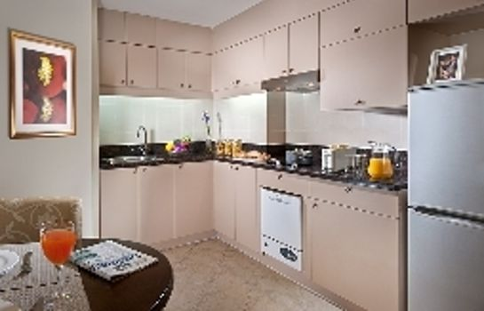 Kitchen Green Court Residence City Center Shanghai Former:Green Court Serviced Apartment People Square