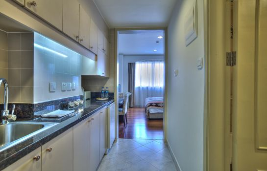 Habitación individual (estándar) Green Court Serviced Apartment People Square