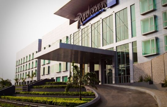 Exterior view RADISSON BLU ANCHORAGE LAGOS