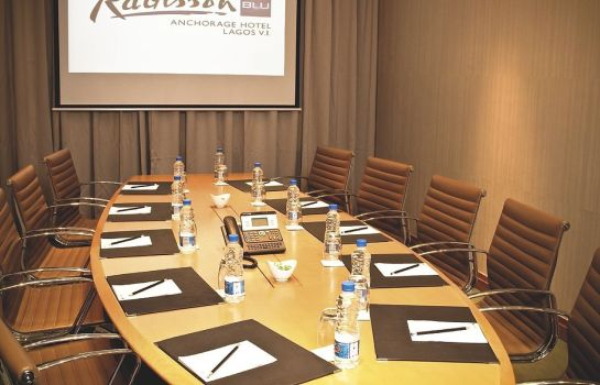 Conference room RADISSON BLU ANCHORAGE LAGOS
