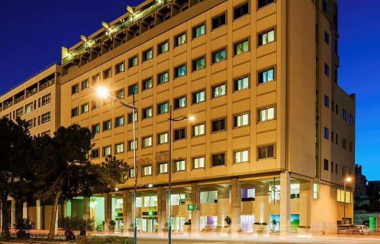 Exterior view ibis Styles Palermo hotel