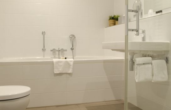 Bagno in camera Best Western Plus Hotel Groningen Plaza