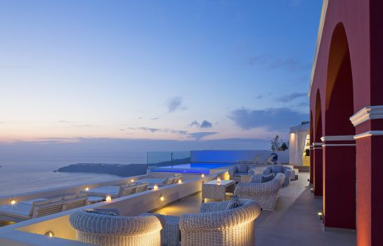 Exterior view Buddha-Bar Beach Santorini La Maltese Estate