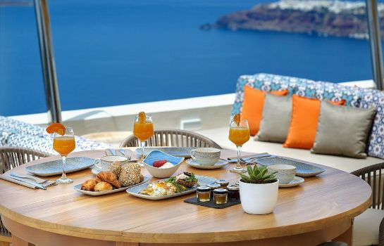 Breakfast room Buddha-Bar Beach Santorini La Maltese Estate