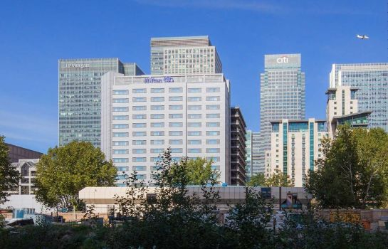 Vista exterior Hilton London Canary Wharf