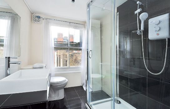 Bagno in camera Kensington Court Hotel Notting Hill