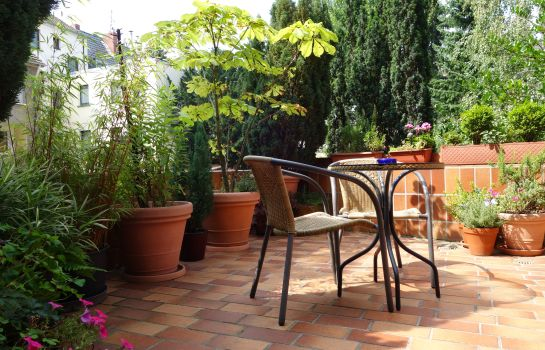 Terrasse Am Helenenwall Pension