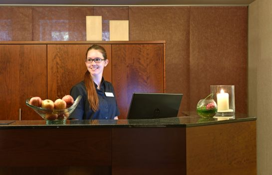 Empfang Best Western Plus Parkhotel Maximilian