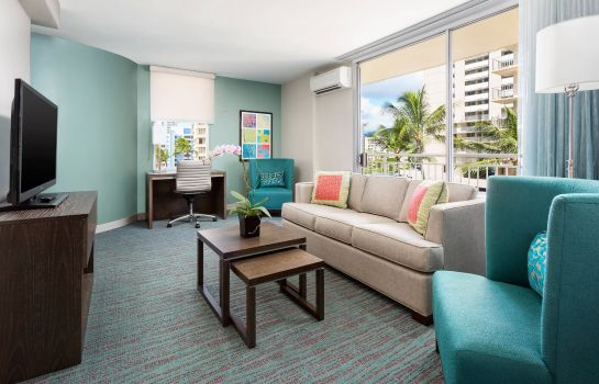 Suite Courtyard Waikiki Beach