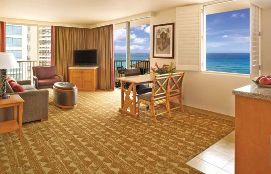 Kamers Embassy Suites by Hilton Waikiki Beach Walk