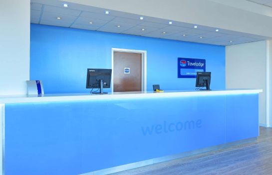 Hotelhalle TRAVELODGE LIVERPOOL JOHN LENNON AIRPORT