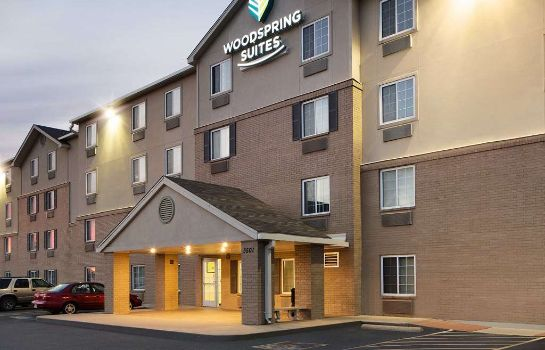 Außenansicht WoodSpring Suites Fort Worth Fossil Creek