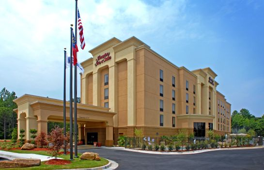 Außenansicht Hampton Inn - Suites ATL-Six Flags