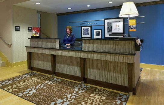 Lobby Hampton Inn Danbury