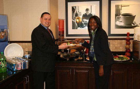 Bar del hotel Hampton Inn - Suites Houston-Bush Intercontinental Aprt