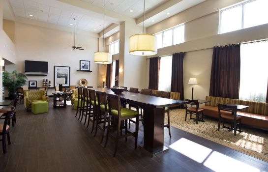 Vestíbulo del hotel Hampton Inn - Suites Houston-Bush Intercontinental Aprt