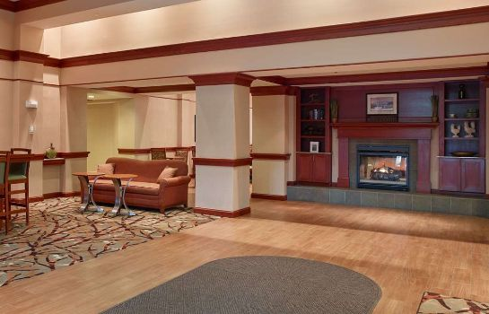 Vestíbulo del hotel Hampton Inn - Suites North Conway