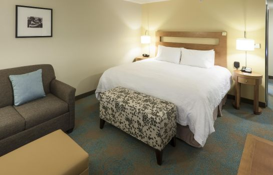 Zimmer Hampton Inn - Suites St Louis at Forest Park