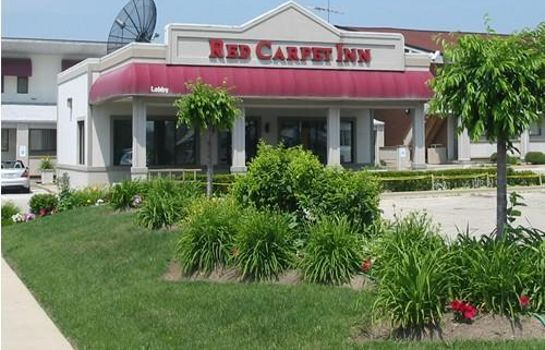 Außenansicht Red Carpet Inn Great Lakes