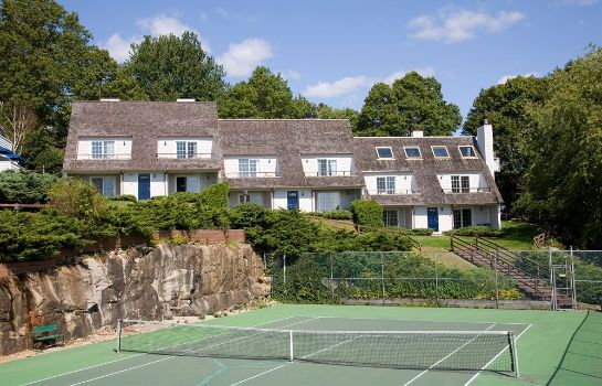 Campo da tennis The Inn at Mystic