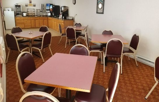 Ontbijtzaal All Seasons Inn and Suites