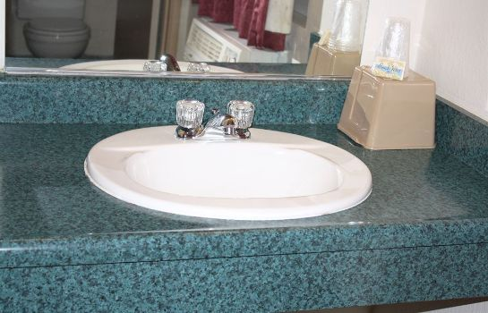 Bagno in camera National 9 Inn Placerville