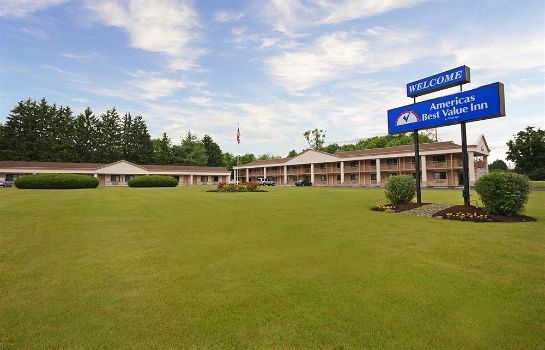 Exterior view Central Valley Americas Best Value Inn