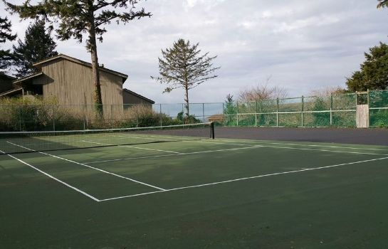 Campo de tennis Inn at Otter Crest