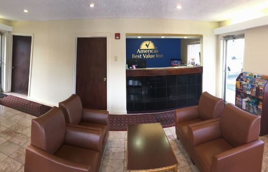 Vista all'interno Central Valley Americas Best Value Inn