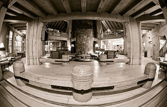 Hol hotelowy TIMBERLINE LODGE