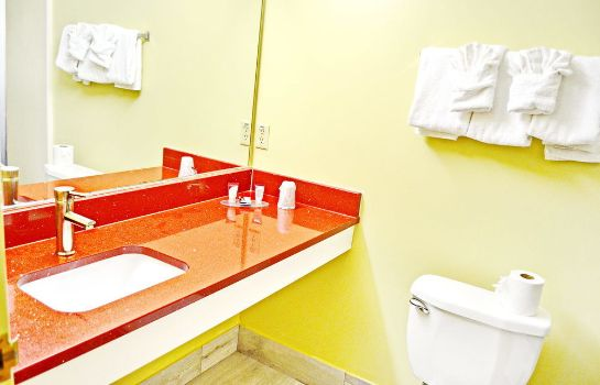 Bagno in camera Flagship Inn And Suites