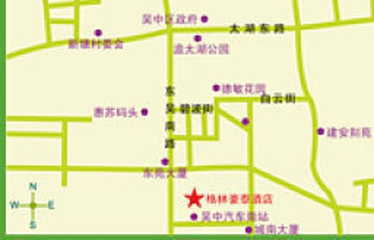 Info Green Tree Inn Wuzhong Domestic only