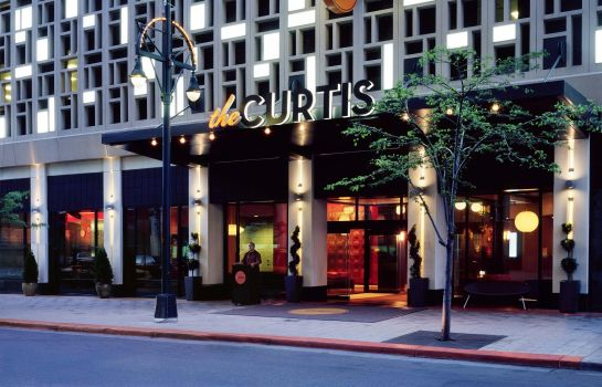 Außenansicht the Curtis Denver - a DoubleTree by Hilton Hotel
