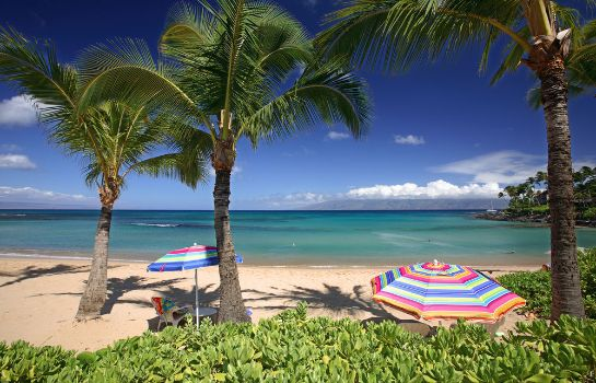 plage The Mauian - Boutique Beach Studios on Napili Bay