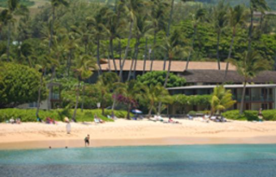 Exterior view The Mauian - Boutique Beach Studios on Napili Bay
