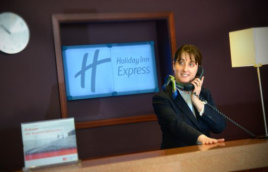 Vestíbulo del hotel Holiday Inn Express DUBLIN AIRPORT