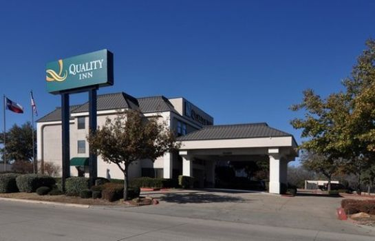 Außenansicht Quality Inn Fort Worth