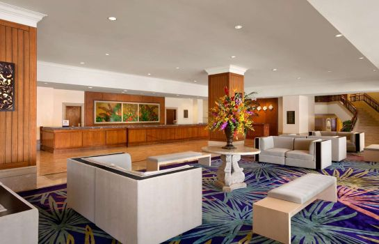 Lobby Hilton Guam Resort  Spa