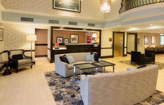 Lobby Hampton Inn Boston Bedford Burlington
