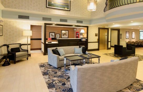 Hotelhalle Hampton Inn Boston Bedford Burlington