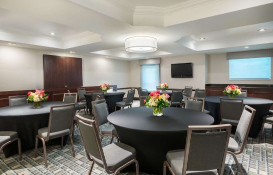 Sala de reuniones Hampton Inn Boston Bedford Burlington