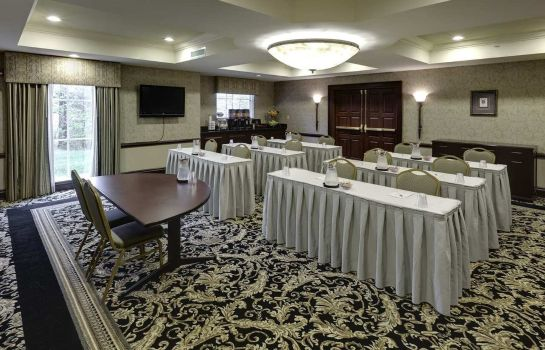 Conference room Hampton Inn Boston Bedford Burlington