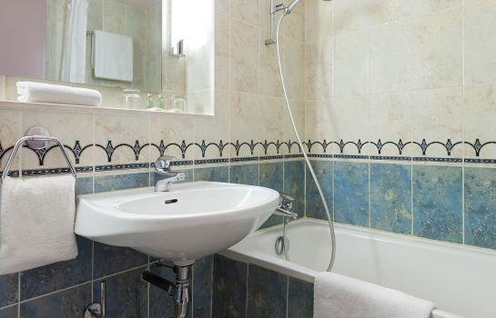 Badezimmer Comfort Hotel Cachan Paris Sud