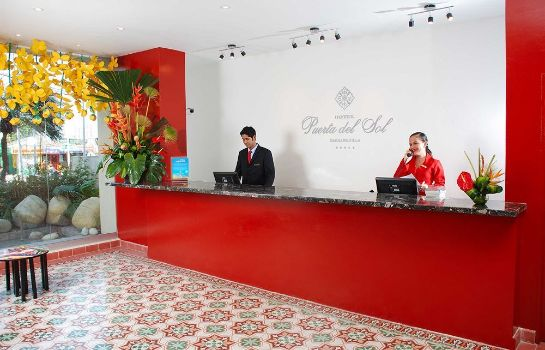 Reception Hotel City House Puerta Del Sol by Faranda