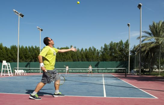 Tennis court Golden Tulip Al Jazira